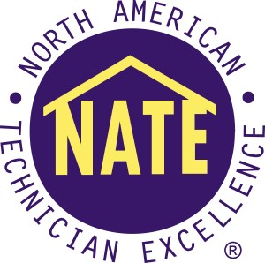 100% of our Service Technicians are NATE certified